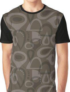 Retro House Mushroom Graphic T-Shirt