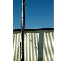 telephone pole Photographic Print