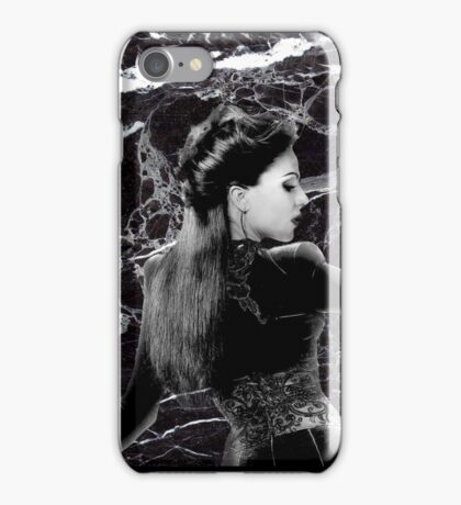 Evil Queen - Black and white iPhone Case/Skin