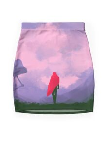 Anomaly in Hue Mini Skirt
