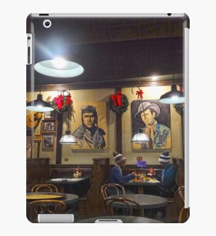 Dining with Jimmy Stewart iPad Case/Skin