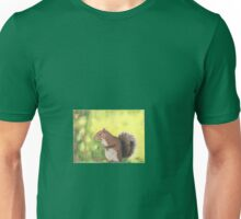 The solitary squirrel Unisex T-Shirt
