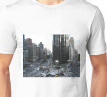 Columbus Circle, Central Park West, Broadway, New York City Unisex T-Shirt