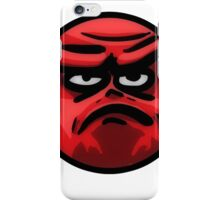 Angry Face iPhone Case/Skin