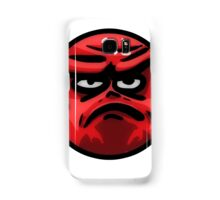 Angry Face Samsung Galaxy Case/Skin