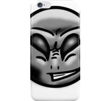 Alien Face (Grey) iPhone Case/Skin