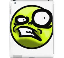 WTF Face (Yellow) iPad Case/Skin