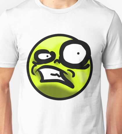 WTF Face (Yellow) Unisex T-Shirt