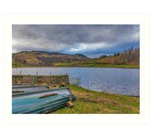 Watendlath Tarn Lake District Art Print