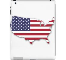 America Map iPad Case/Skin