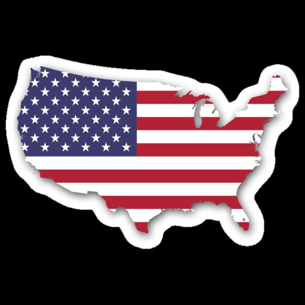 America Map by cadellin