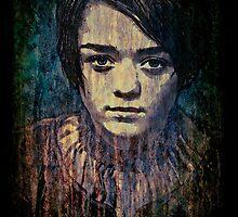 Arya Stark by David Atkinson