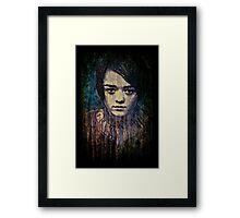 Arya Stark Framed Print