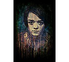 Arya Stark Photographic Print