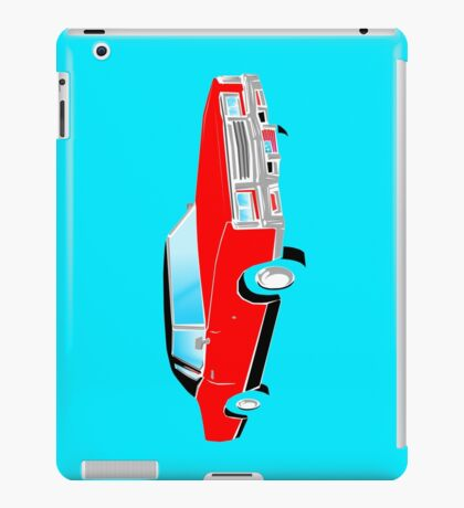 American Car - RED iPad Case/Skin