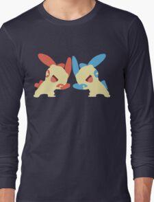 Plusle & Minun Minimalist Long Sleeve T-Shirt