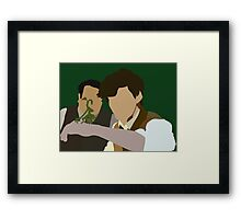 This is exactly why they accuse me of favouritism Framed Print