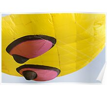 colorful kites octopus flying in the sky Poster