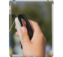 hand and kite iPad Case/Skin