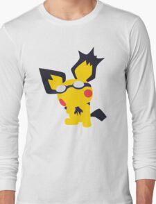 Pichu Minimalist Long Sleeve T-Shirt