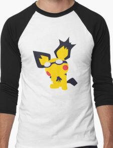 Pichu Minimalist Men's Baseball ¾ T-Shirt