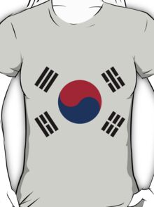 Living Korea Flag T-Shirt