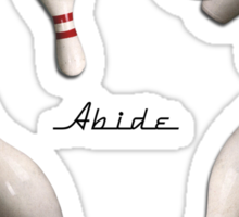 Abide 2 Sticker