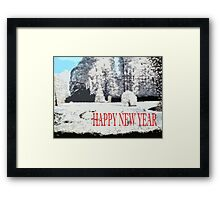 HAPPY NEW YEAR 107 Framed Print