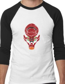 Eva Unit-02 Men's Baseball ¾ T-Shirt