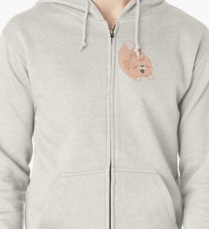 The Army: Peaches Zipped Hoodie