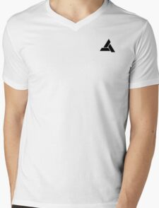 Abstergo Employee Mens V-Neck T-Shirt