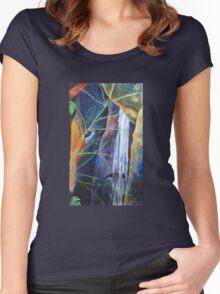 Falls St Bernards Tamborine -pastel Women's Fitted Scoop T-Shirt