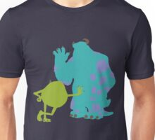 Mike Wazowski and James P. Sullivan (Mike and Sulley) - Monsters Inc Unisex T-Shirt