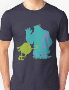 Mike Wazowski and James P. Sullivan (Mike and Sulley) - Monsters Inc T-Shirt