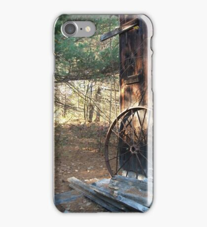 The old barn iPhone Case/Skin