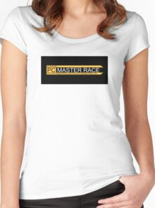 PCMASTERRACE Women's Fitted Scoop T-Shirt