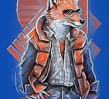 MJ Fox by c0y0te7