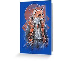 MJ Fox Greeting Card