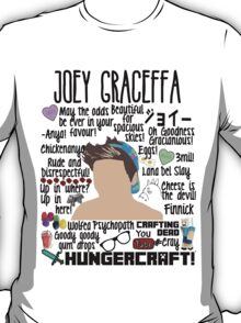 Joey Collage hat T-Shirt