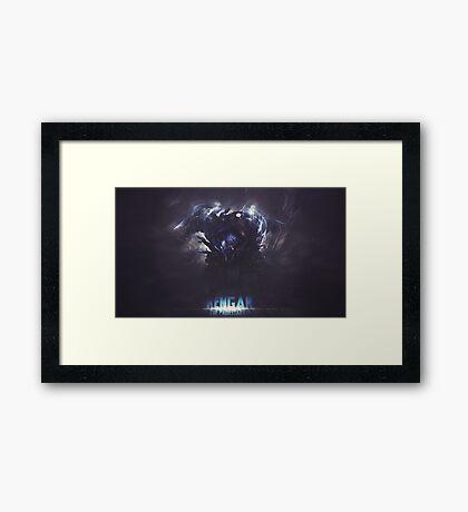 League of lgends-rengar 2 Framed Print