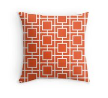 Cracked Ember Throw Pillow