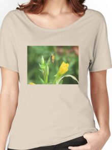 Soldier Beetle on Yellow Wildflowers Women's Relaxed Fit T-Shirt