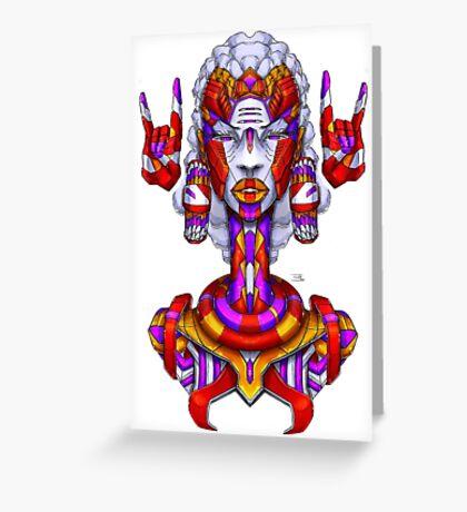 Alpha - Color Greeting Card
