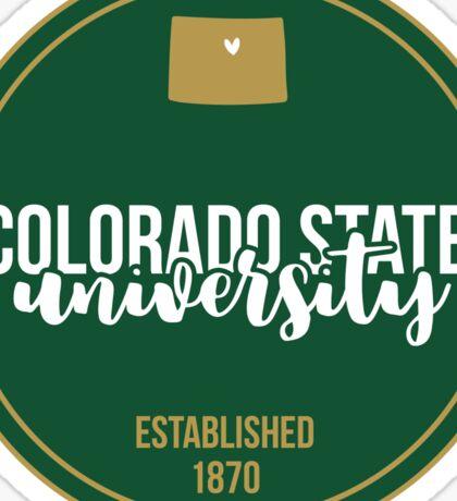Colorado State University - Style 17 Sticker