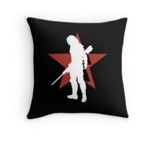 Captain America - Winter Soldier Throw Pillow