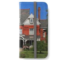 Old West End-Mansionview Inn in the Spring iPhone Wallet/Case/Skin