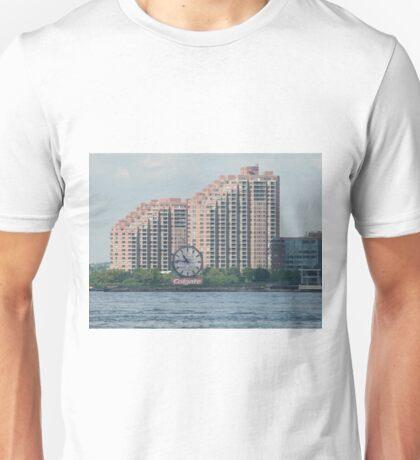 Classic Colgate Clock, Jersey City, Manhattan View T-Shirt