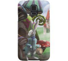 Rabbit in the Wonderland Toadstool Forest Samsung Galaxy Case/Skin