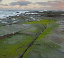 Evening light. Caloundra Headlands. by Ian Hallmond