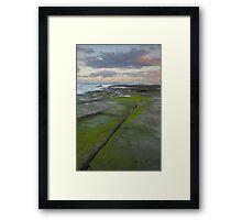 Evening light. Caloundra Headlands. Framed Print